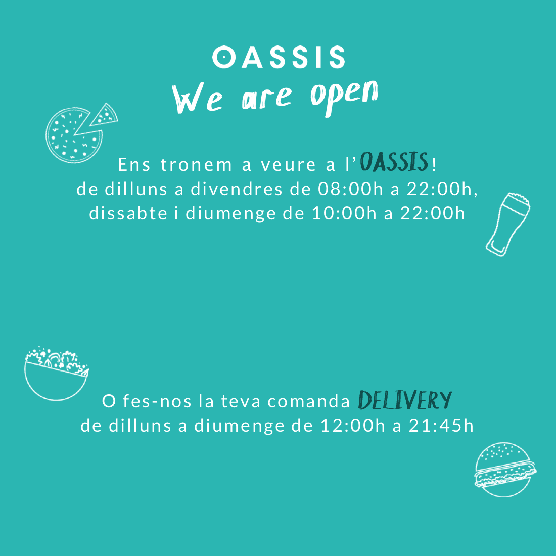 OASSIS take away