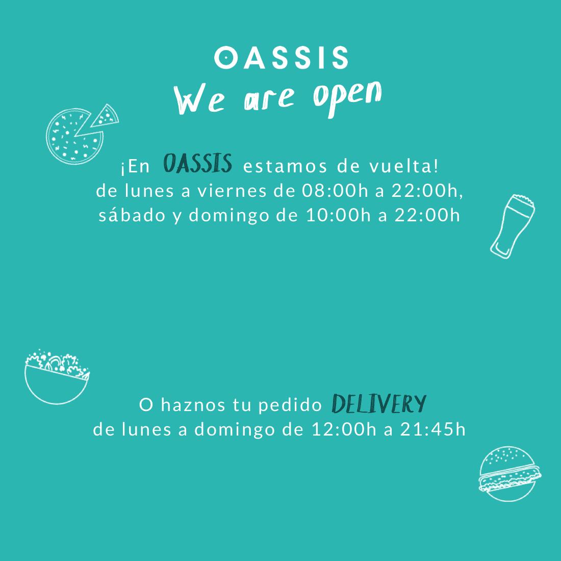 OASSIS take away